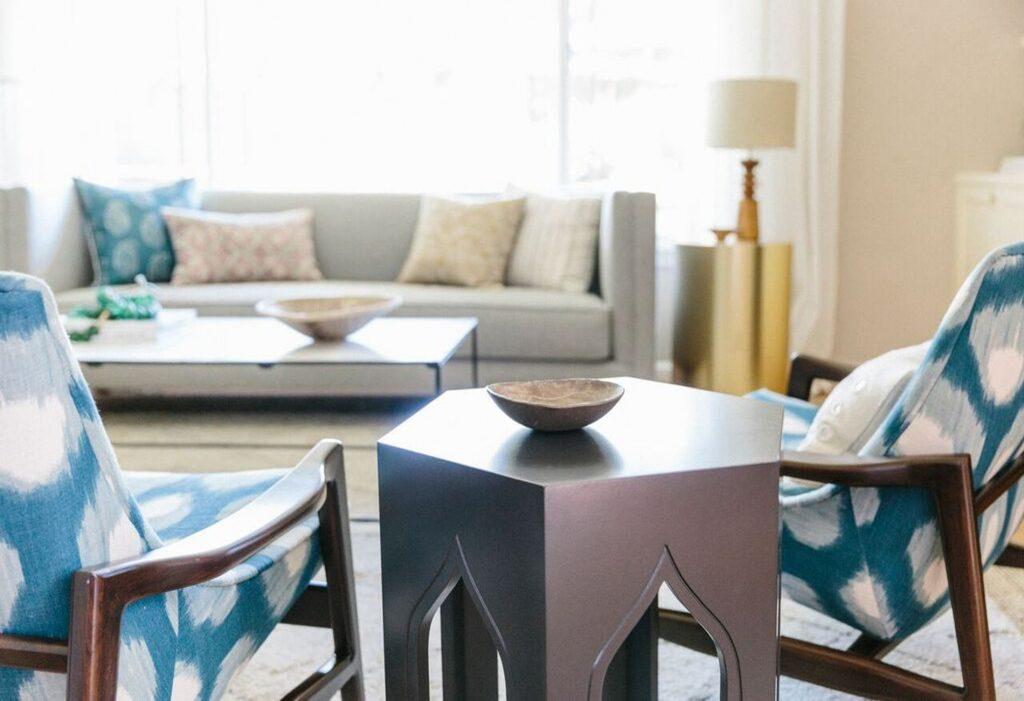 Heidi-Caillier-Design-Seattle-interior-designer-ethnic-pillows-bohemian-modern-design-printed-chairs