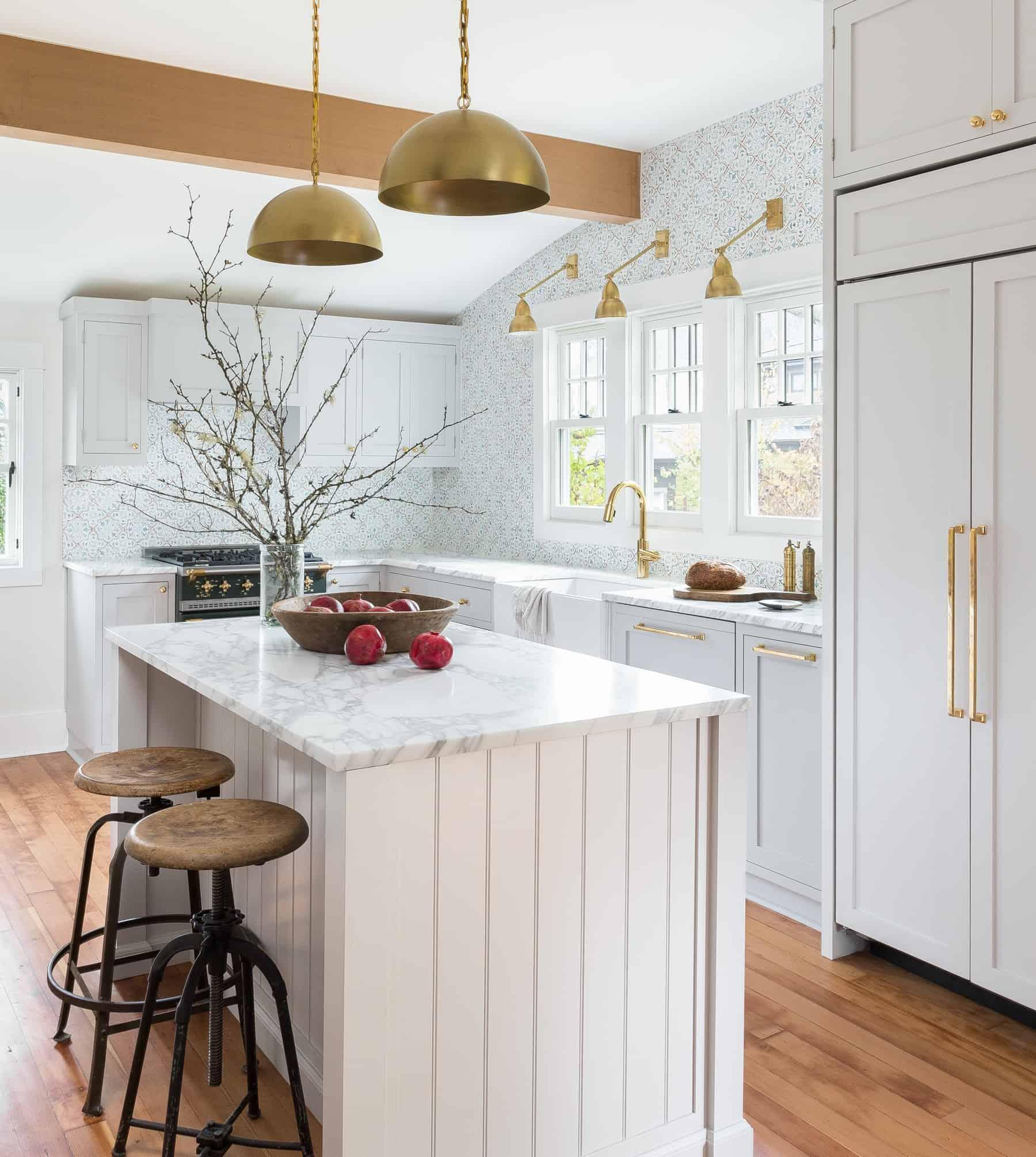 Brilliant Small Kitchen Island Kitchen Interior Decoration: Heidi Caillier