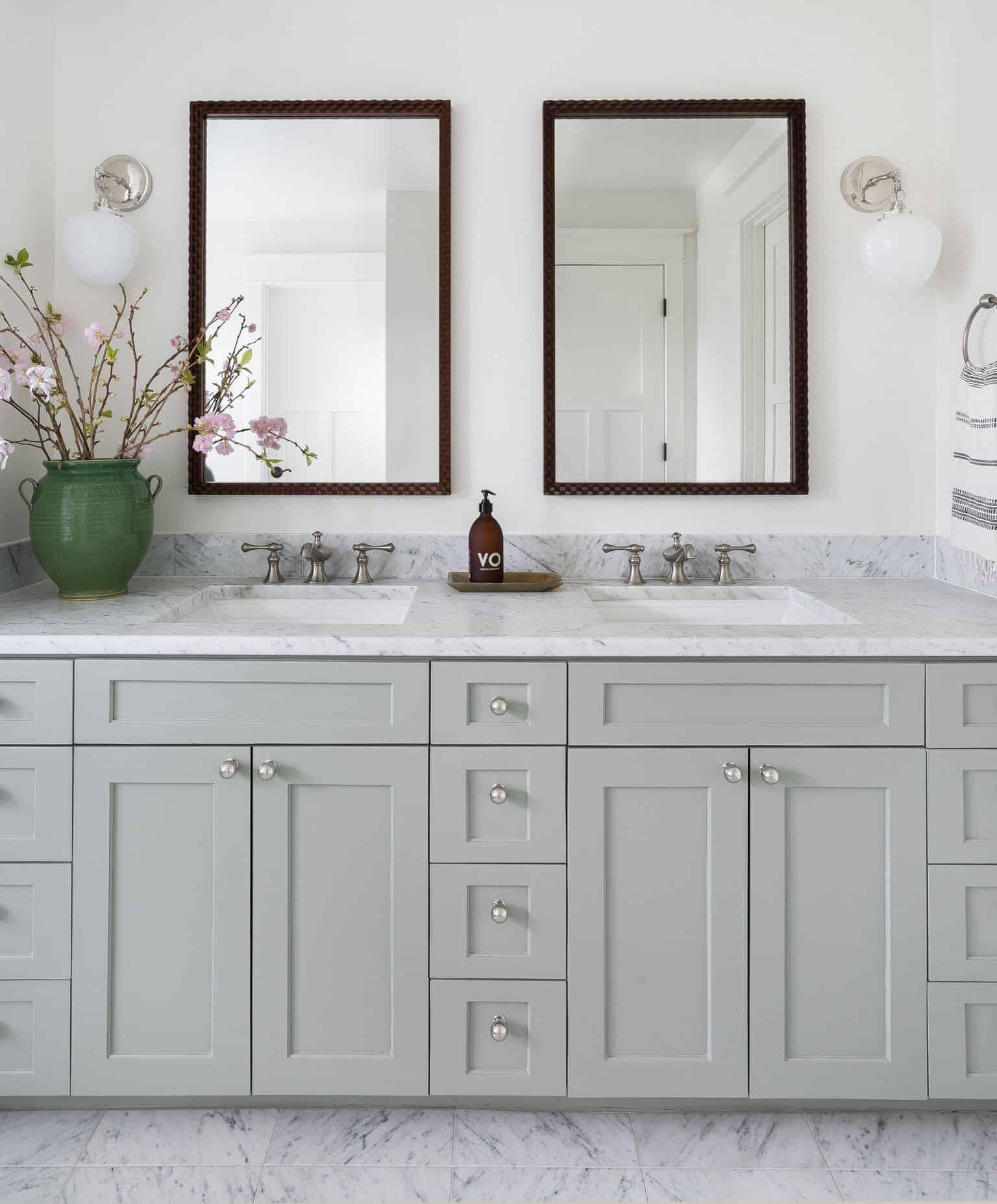 Heidi Caillier Design Seattle Interior Designer Bathroom